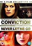 Conviction / Never Let Me Go Double Pack [DVD] [2010]
