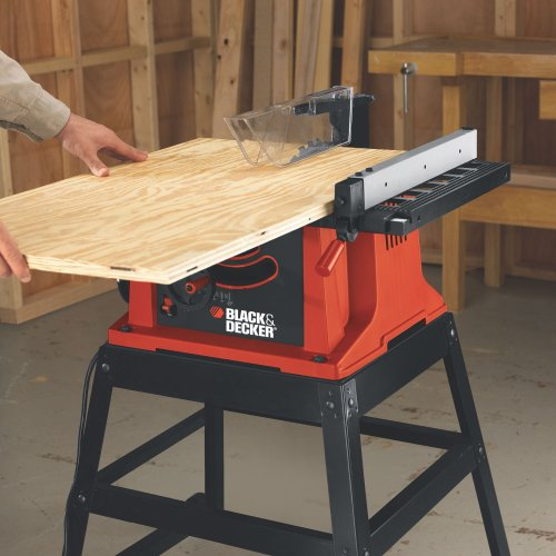 Black decker bdts200 15 amp table saw with stand and wheels black decker bdts200 15 amp table saw with stand and wheels power table saws amazon greentooth Gallery