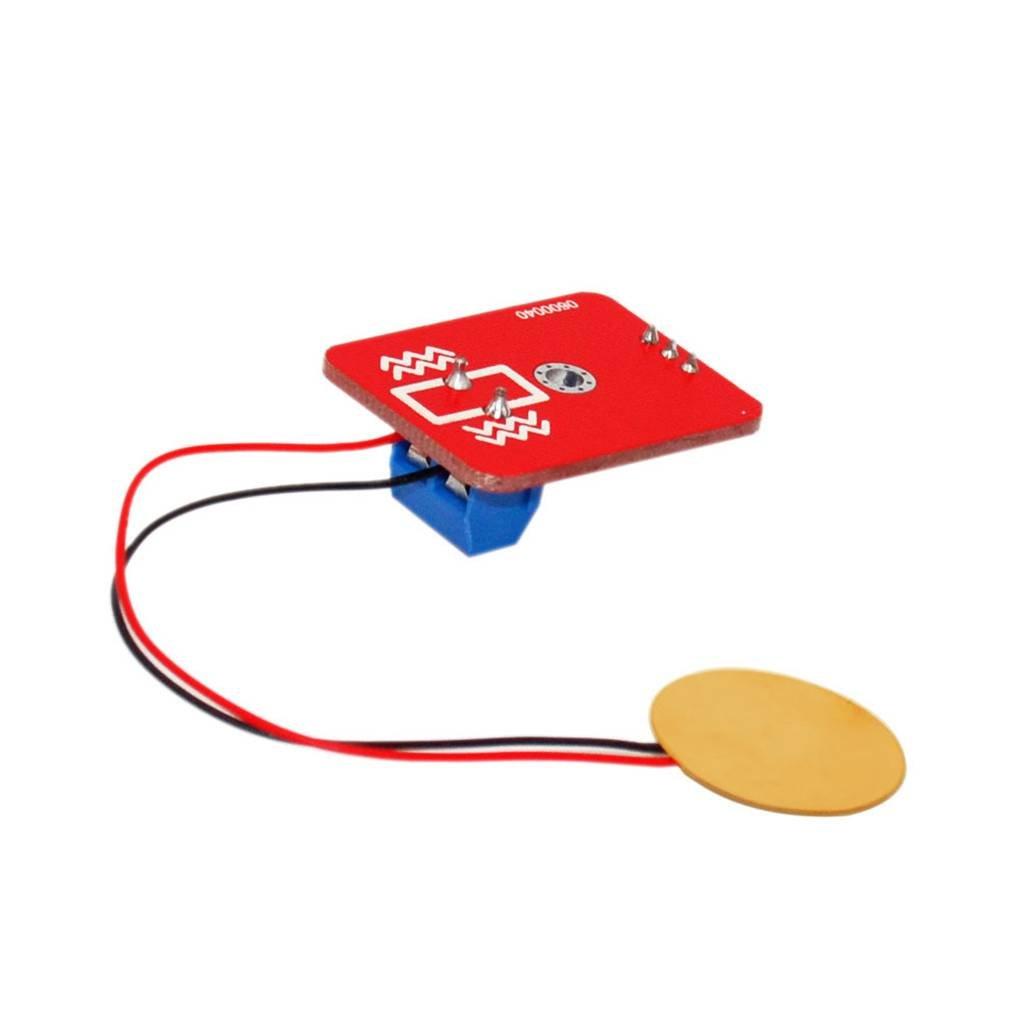 Busirde Analog pi/ézo/électricit/é c/éramique Capteur de Vibration Piezo capteur de Vibrations pour Le d/éveloppement ARDUINO Conseil