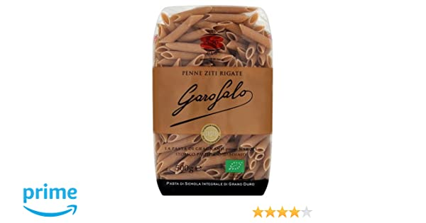 Garofalo Pasta Seca Penne Rigate Integral - 500 gr: Amazon.es: Amazon Pantry