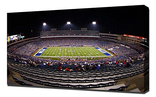 Lilarama USA Buffalo Bills Ralph Wilson Stadium 2 - Canvas Art Print - Wall Art - Canvas Wrap (Ralph Stadium Wilson)