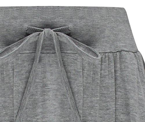 ... Hibote Damen Baumwoll rock Boho Retro Maxirock A-linie Rock mit Taschen  Elastische Taille Röcke ... 898b4cbff1