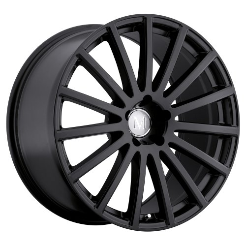 Mandrus ROTEC Black Wheel with Painted Finish (20 x 8.5 inches /5 x 120 mm, 25 mm Offset)