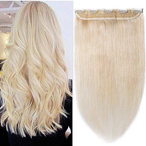 Clip in hair extensions human hair one piece human hair exte