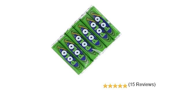 Zizzi - 6 paquetes de tubos de menta polo menta dulces caramelos ...