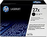 HP 27X (C4127X) Black High Yield Original LaserJet Toner Cartridge
