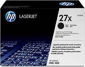 HP 27X (C4127X) Black High Yield Original LaserJet Toner Cartridge