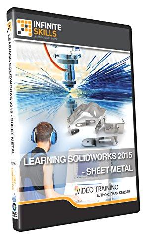 Learning SolidWorks 2015 - Sheet Metal - Training DVD by Infiniteskills