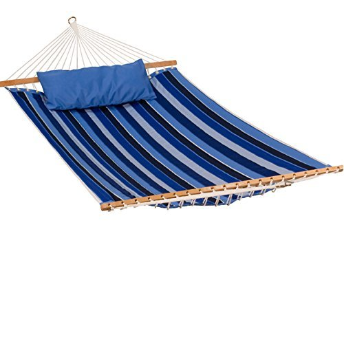 11' Reversible Sunbrella Quilted Hammock - by Algoma Net