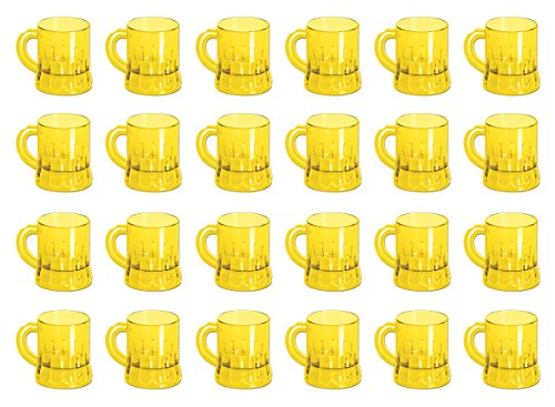 (Beistle 50436 24-Pack Mug Shot , 3-Ounce)