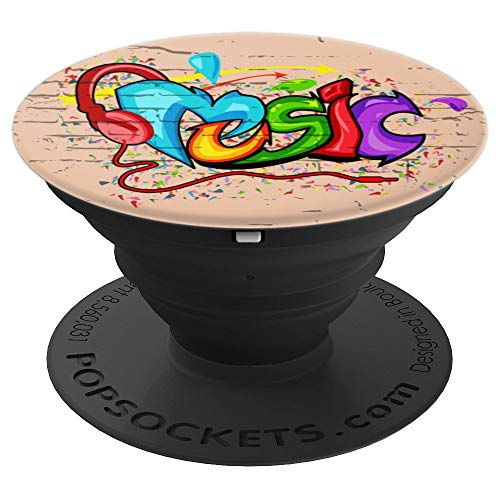 (Graffiti and Hip Hop Art Urban Street Music Artist - PopSockets Grip and Stand for Phones and Tablets)