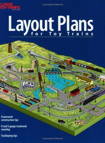 Layout Plans for Toy Trains by Kent J. Johnson (2001-09-01) - Toy Truck Plans