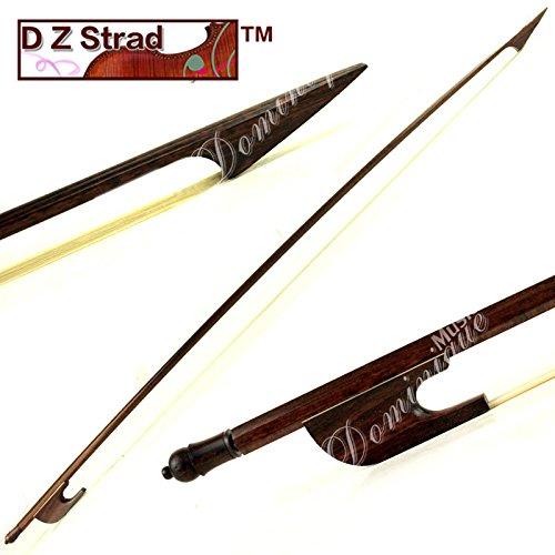 D Z Strad Cello Bow - Model 756 - Carbon Fiber Bow with Ebony Fleur-de-Lis Frog D Z-0010