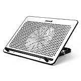 Luerme Laptop Cooler Computer Cooling Fan Notebook Cooling Pad Mat Holder Stand Radiator