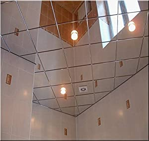 Amazon Com 2 X 2 Mirror Ceiling Tiles Box Of 10 Home
