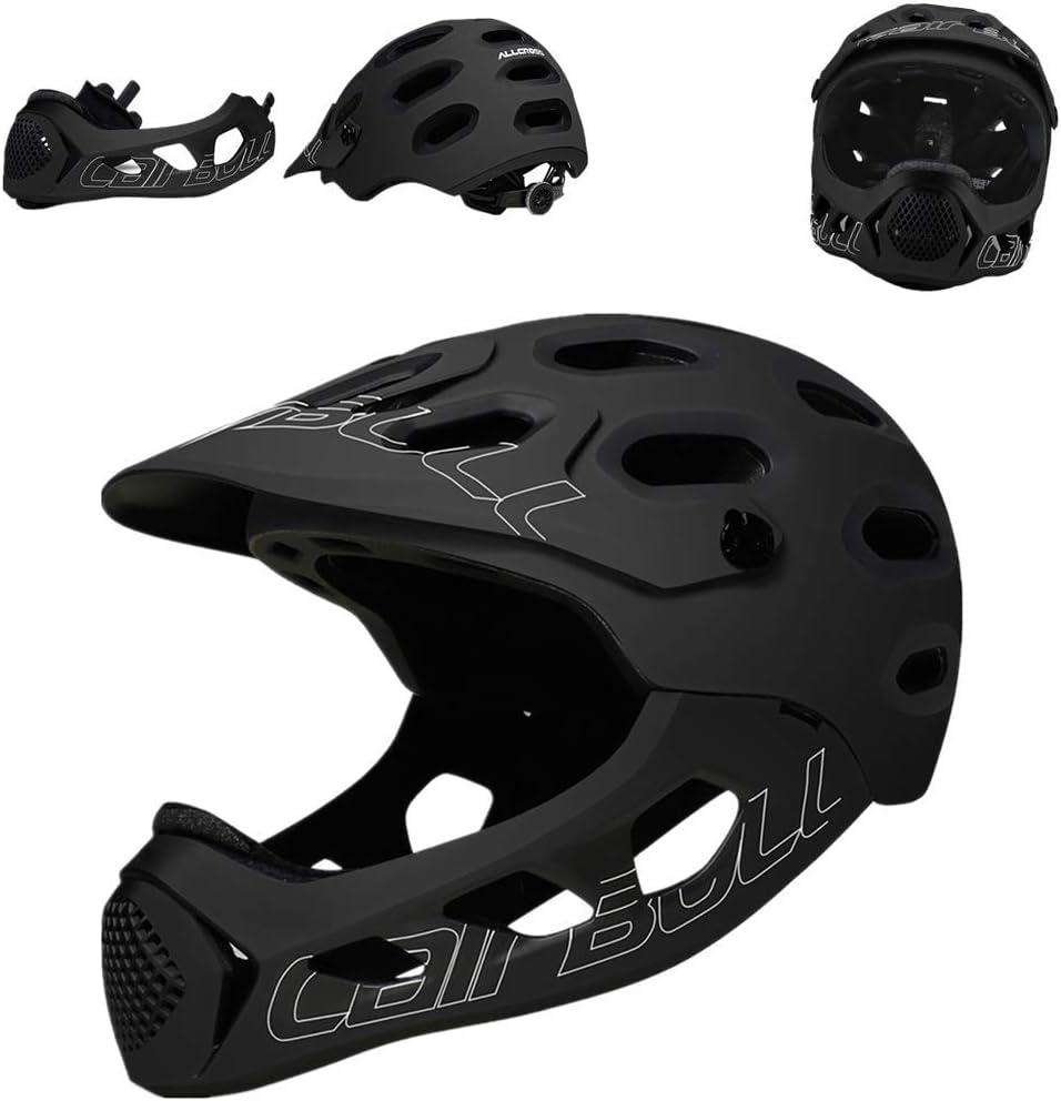 51rJ1R5ZecL. AC SL1000  - QKFON Fahrradhelm mit abnehmbarem Kinnschutz Mountainbike Langlauf Fahrrad Integralhelm Extrem Sport Sicherheit Helm für Mountainbike Rennrad 56-62cm