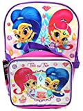 """Shimmer & Shine Backpack with Lunch Kit, 16"""""""
