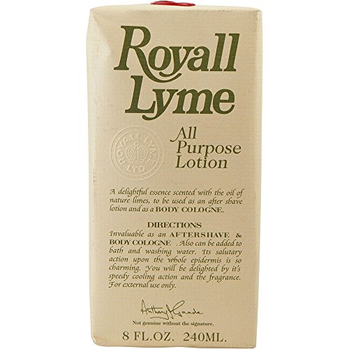 ROYALL LYME by Royall Fragrances AFTERSHAVE LOTION COLOGNE 8 OZ (Package Of 2)