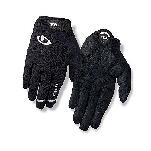 Strada Glove - Giro Strada Massa SG LF Womens Cycling Gloves Black Medium