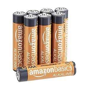 AmazonBasics AAA Performance Alkaline Batteries, 8ct (Packaging May Vary)
