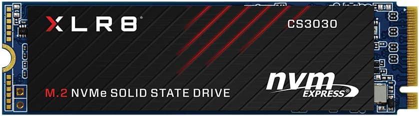 PNY XLR8 CS3030 Unidad de Estado sólido M.2 250 GB PCI Express 3D TLC NVMe - Disco Duro sólido (250 GB, M.2, 3500 MB/s)