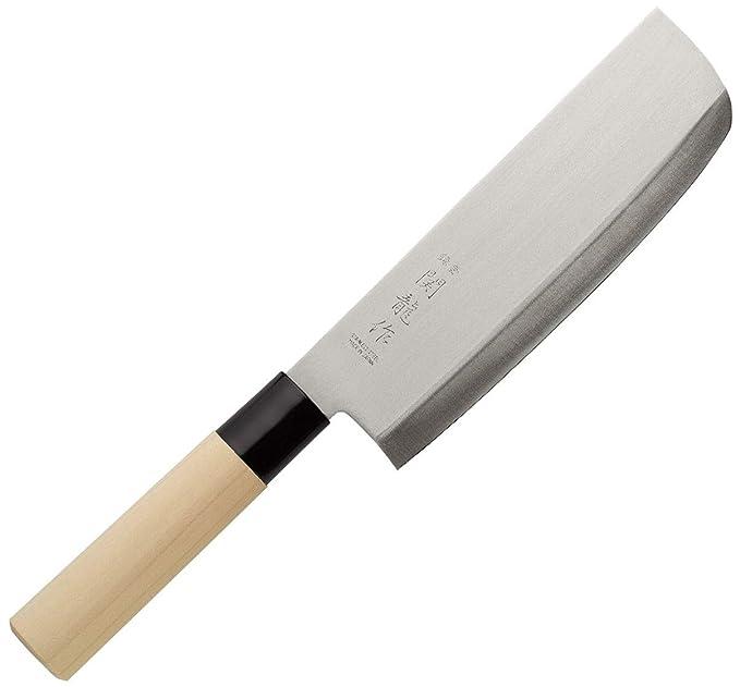 SekiRyu Santoku - Cuchillo de cocina japonés