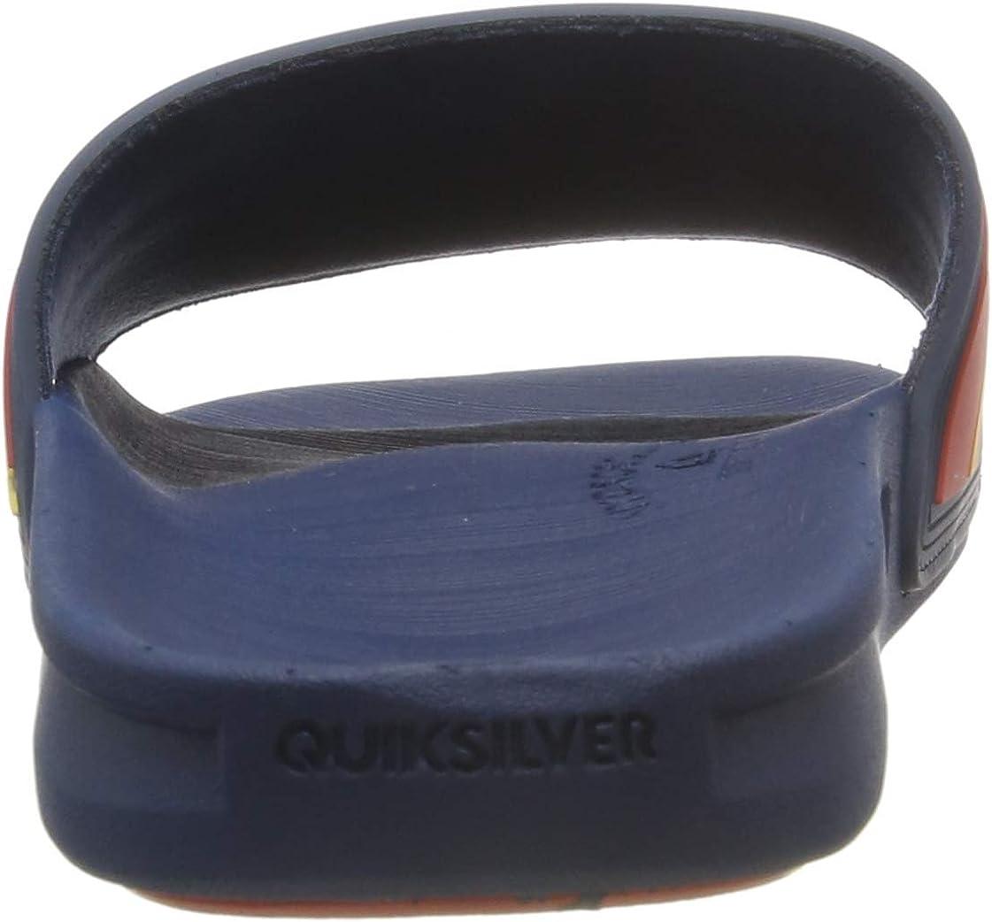 Quiksilver Rivi Slide-Slider Sandals For Men Sandalias con Punta Abierta para Hombre