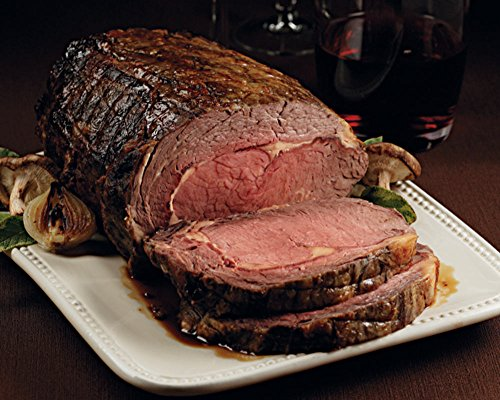 Kansas City Steaks 1 (4.5 - 5 lb.) Garlic and Herb Rub Prime Rib Roast