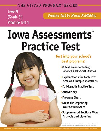 Iowa AssessmentsTM Practice Test (Grade 3) Level - Test Assessment Skills