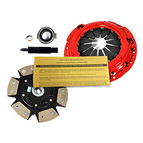 6 Puck Clutch Kit - EFT 6-PUCK CLUTCH KIT for 02-06 ACURA RSX 02-05 HONDA CIVIC Si K20A3 EP3 5-SPD