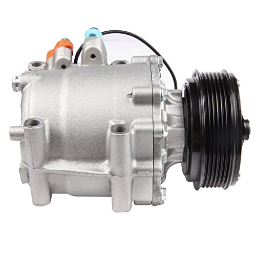 ECCPP Replacement for New A/C Compressor W/Cluth Fits 2002-2005 2003 2004 Honda Civic 1.7L 78613