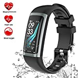 Fitness Tracker Watch, TEYO Activity Tracker Smart Watch with Heart Rate Blood Pressure