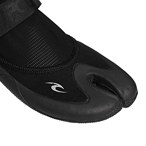 Rip Curl 1.5MM Dawn Patrol Reefer Low Split Toe Shoes WB00AT black/charcoal