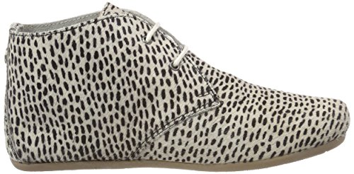 Maruti Damen Gimlet Hairon Leather Stiefeletten Beige (Off White)