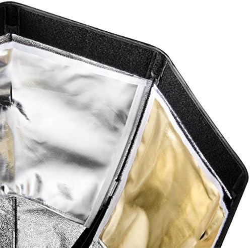 Walimex Pro Octagone Softbox Plus Bo/îte /à lumi/ère pour Multiblitz P Diam/ètre 150 cm Orange Line