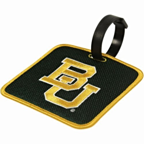 NEW! Baylor Bears Golf Bag Tag Embroidered Luggage Tag (Bears Luggage Tag)