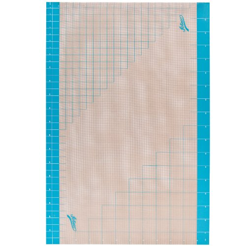 Ateco 698 Fondant Work Mat, 24 by 36-Inches with Measurement Grid, Non-stick, Food Grade Silicone