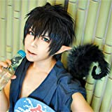 Ao no Exorcist Okumura Rin cosplay costume wig