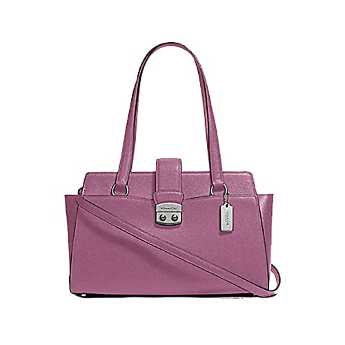 Amazon.com: Coach Crossgrain Leather Avary Carryall Monedero ...
