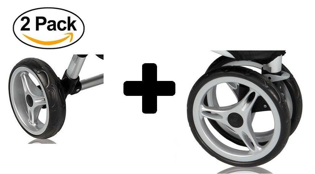 Baby Jogger City Mini Single Complete Wheel Set C127 C128