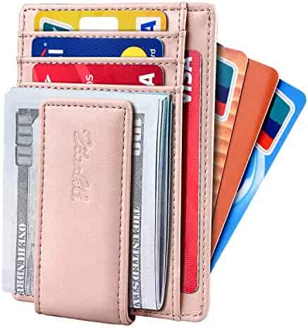 44909e05306d Slim & Minimalist Bifold Front Pocket Wallet with Strong Magnet Money Clip  for men,Effective