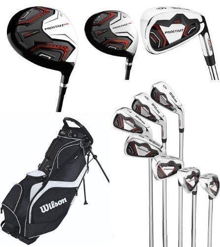 Amazon.com: Wilson Prostaff HL Mens Complete Golf Club Set ...