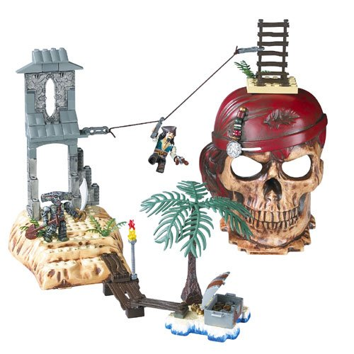 Mega Bloks Pirates of the Caribbean -Isla ()