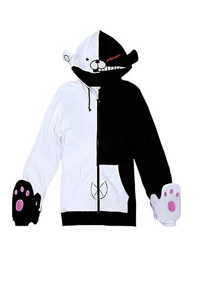 Disfraz de Cosplay de Anime Unisex de Halloween Navidad Sudadera con Patron Animal Oso para Otono Invierno: Amazon.es: Ropa y accesorios