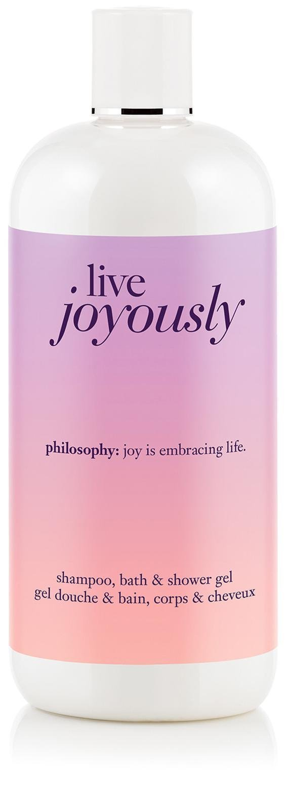 Philosophy shower gel - live joyously - 16 oz