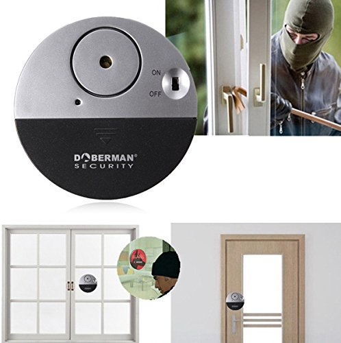 Wireless Sensor Door Window Home Security Entry Burglar Alarm System