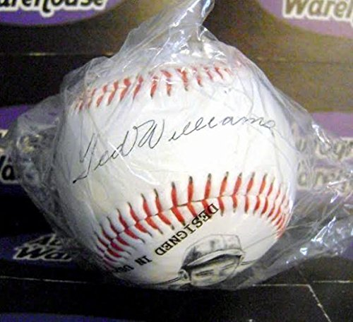 Autograph 211547 Facsimile Commemorative Ball Ted Williams Autographed (Williams Autograph Baseball)