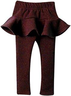 Fullfun 2-7 Years Old Baby Girl Cotton Pantskirt Legging