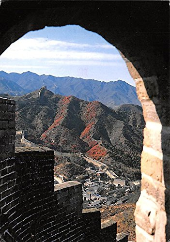 Scenery on the Badaling secition of the Great Wall in Beijing China, People's Republic of China Postcard