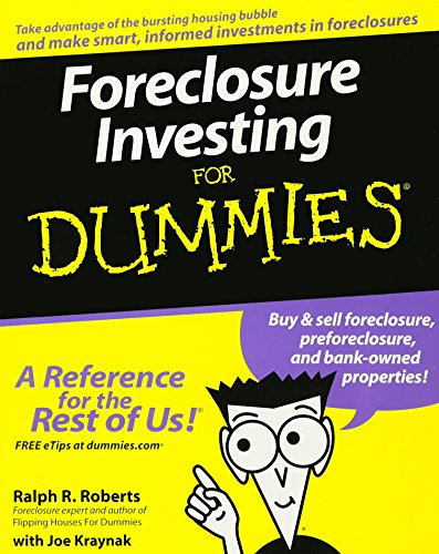 Foreclosure Investing For Dummies by For Dummies